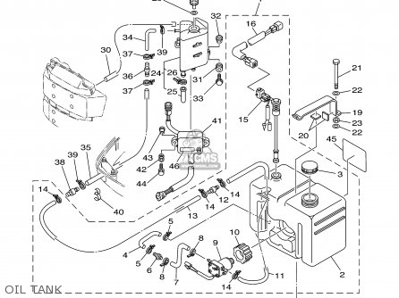 Yamaha 115/130TLRB/TXRB 2003 parts lists and schematics