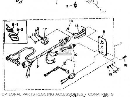 Yamaha 115/130trp 1991 parts list partsmanual partsfiche