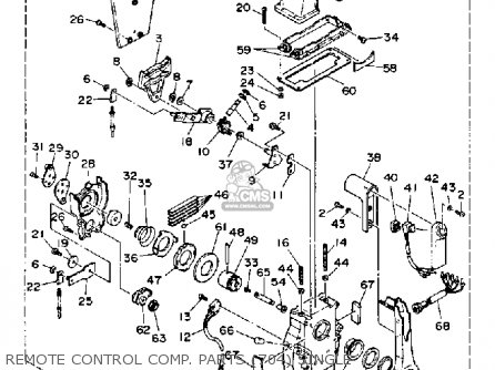 Yamaha 115/130TRP 1991 parts lists and schematics