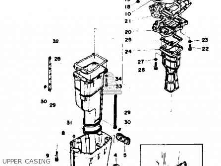 Yamaha 115/130TRQ 1992 parts lists and schematics