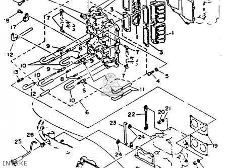 Yamaha 115/130trr 1993 parts list partsmanual partsfiche