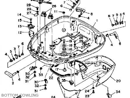Yamaha 115ETH 1987 parts lists and schematics