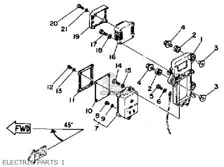 Yamaha 115eth 1987 parts list partsmanual partsfiche