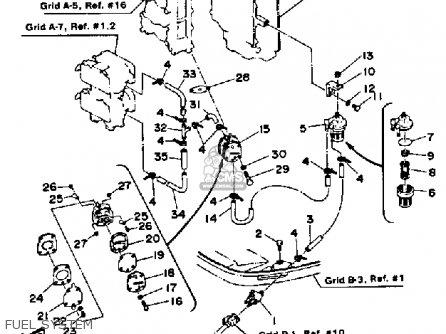 Yamaha 115ETJ 1986 parts lists and schematics