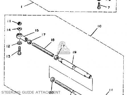 Yamaha 150 175 200 Etln Etxn 1984 parts list partsmanual