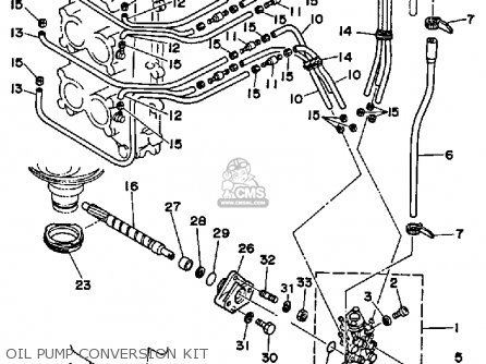 Yamaha 150/175/200 ETG 1988 parts lists and schematics