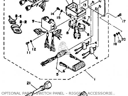 Yamaha 150/175/200 ETG 1988 parts lists and schematics