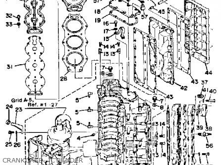 Yamaha 150/175/200 Etj 1986 parts list partsmanual partsfiche
