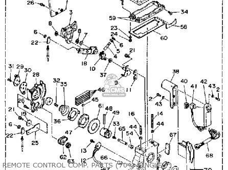 Yamaha 150/175/200ETF 1989-1991 parts lists and schematics