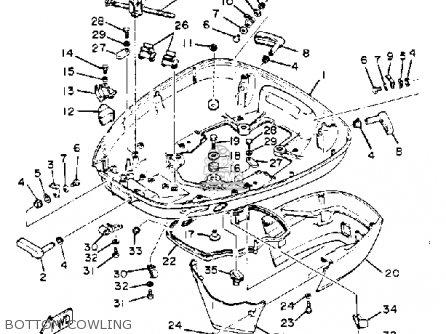 Yamaha 150/175/200ETK 1985 parts lists and schematics