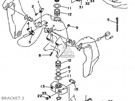 Yamaha 150/175/200/L150/L200TRW 1998 parts lists and