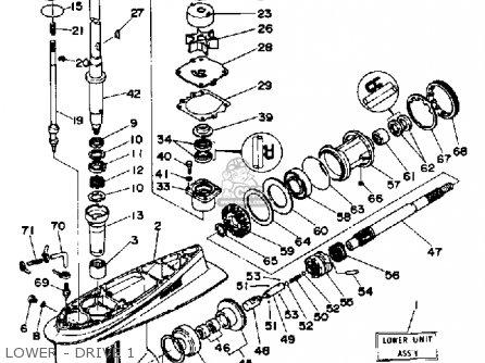 Yamaha 150/175/200trp 1991 parts list partsmanual partsfiche