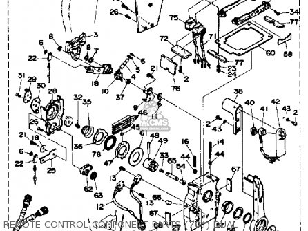 Yamaha 150/175/200TRP 1991 parts lists and schematics