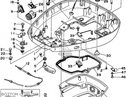 Yamaha 150/175/200TRT-L 150/L200TRT 1995 parts lists and