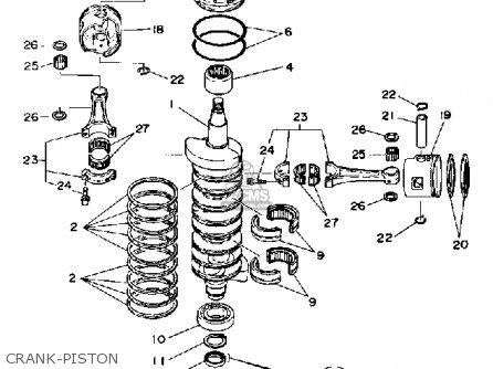 Yamaha 150G PRO V 1988 parts lists and schematics