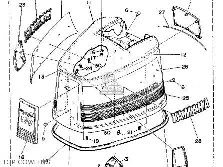 Yamaha 150g Pro V 1988 parts list partsmanual partsfiche