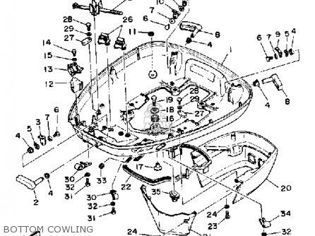 Yamaha 150H PRO V 1987 parts lists and schematics