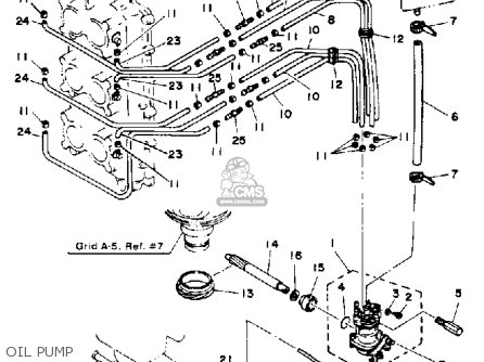 Yamaha 150J PRO V 1986 parts lists and schematics