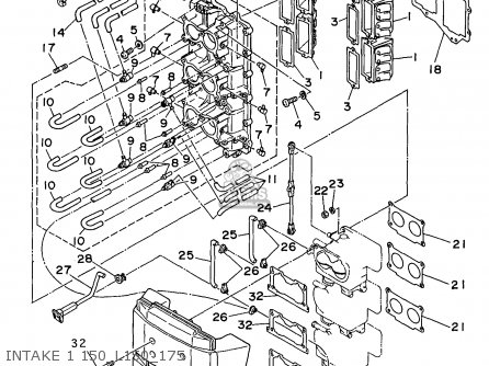 Yamaha 150/s150/s175/s200-l150/l200trx 1999 parts list