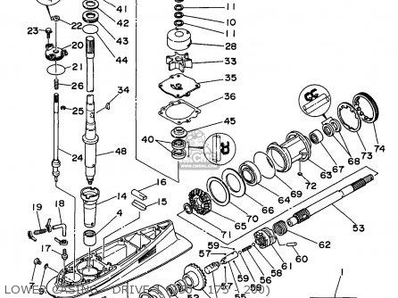 Yamaha 150/S150/S175/S200-L150/L200TRX 1999 parts lists