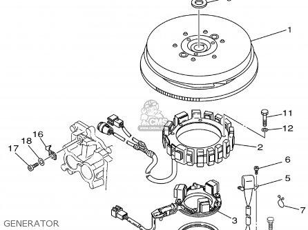 Yamaha 150txra 2002 parts list partsmanual partsfiche