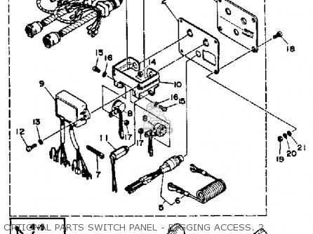 Yamaha 250trq 1992 parts list partsmanual partsfiche