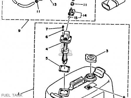 Yamaha 250TXRR/TURR 1993 parts lists and schematics