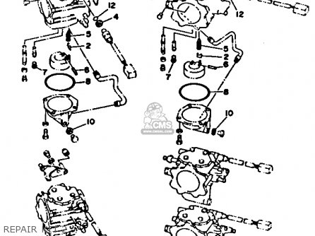 Yamaha 250TXRR/TURR 1993 parts lists and schematics