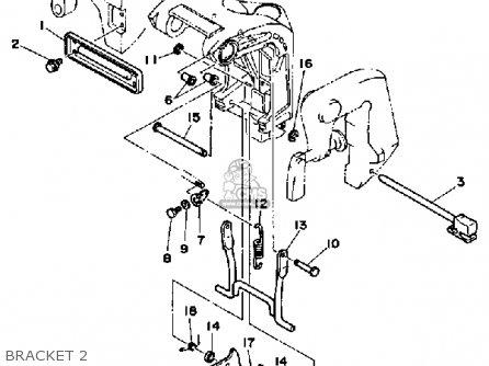 Yamaha 25D 1990 parts lists and schematics
