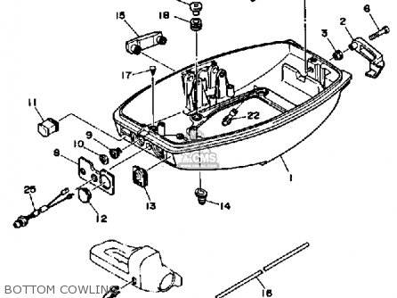 Yamaha 25HP 1991 parts lists and schematics