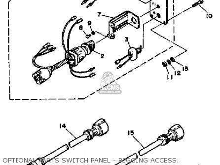 Yamaha 25HP 1991 parts lists and schematics