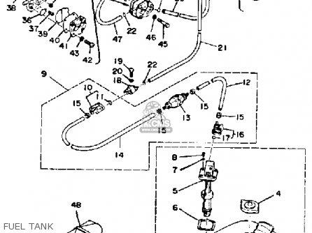 Yamaha 25J 1986 parts lists and schematics