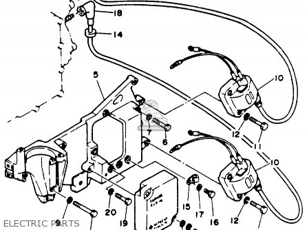 Yamaha 25M(E)HR (25MSHR/ELHR/MLHR/ELRR) 1993 parts lists