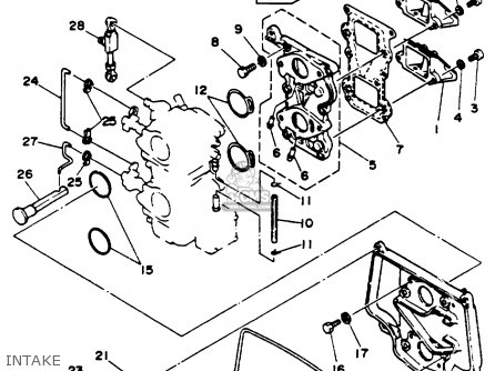 Yamaha 25m(e)hr (25mshr/elhr/mlhr/elrr) 1993 parts list