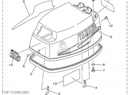 Yamaha 25MSHA 2002 parts lists and schematics