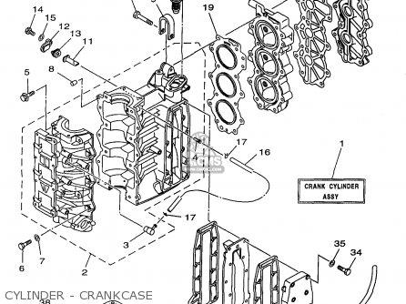 Yamaha 25(msh/mlh)w3 1998 parts list partsmanual partsfiche