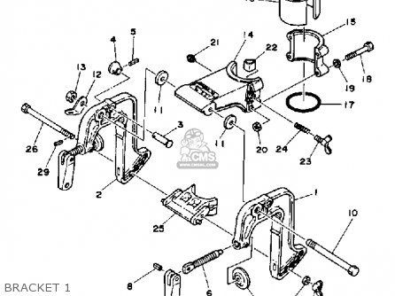 Yamaha 2D 1990/1991 parts lists and schematics