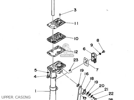 Yamaha 2MHT 1995 parts lists and schematics