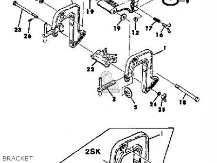 Yamaha 2SK 1984/1985 parts lists and schematics