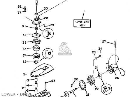 Yamaha 2sk 1984/1985 parts list partsmanual partsfiche