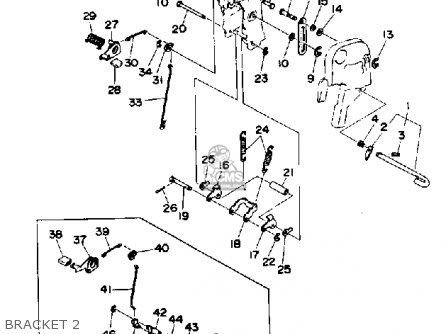 Yamaha 30d 1990/1991 parts list partsmanual partsfiche