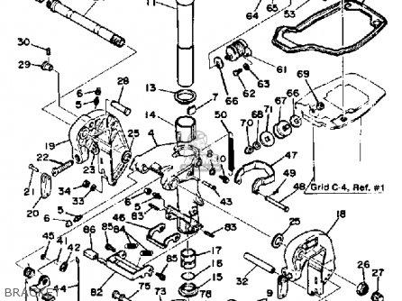 Yamaha 30J 1986 parts lists and schematics