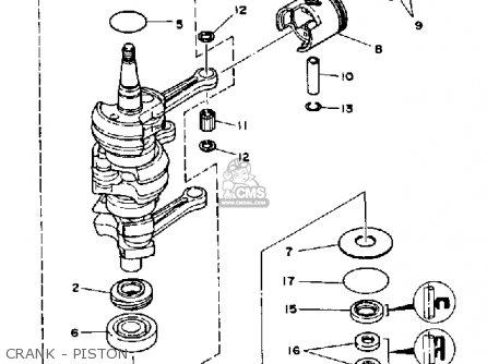 Yamaha 30p 1990/1991 parts list partsmanual partsfiche