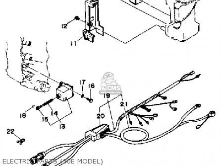 Yamaha 30P 1990/1991 parts lists and schematics
