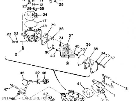 Yamaha 3G 1988 parts lists and schematics