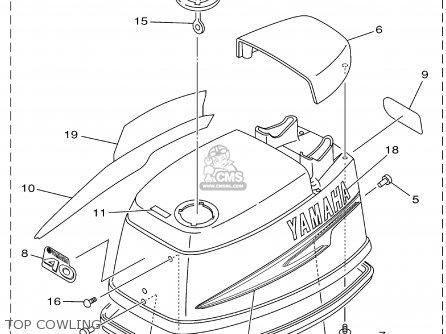 Yamaha 40/50tlra 2002 parts list partsmanual partsfiche