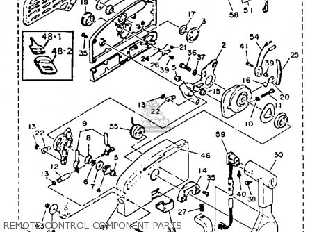 Yamaha 40(E/ET) P 1990/1991 parts lists and schematics
