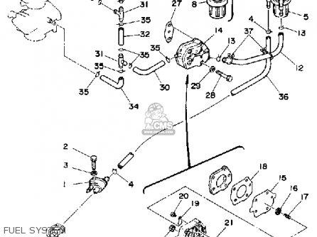 Yamaha 40G/EG/ETG 1988 parts lists and schematics
