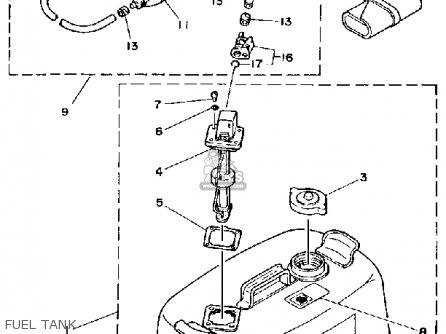 Yamaha Engine Oil Tank Diagram, Yamaha, Free Engine Image
