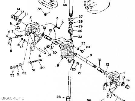 Yamaha 40(mh/er/pr)q 1992 parts list partsmanual partsfiche